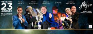 flyer gala della magia