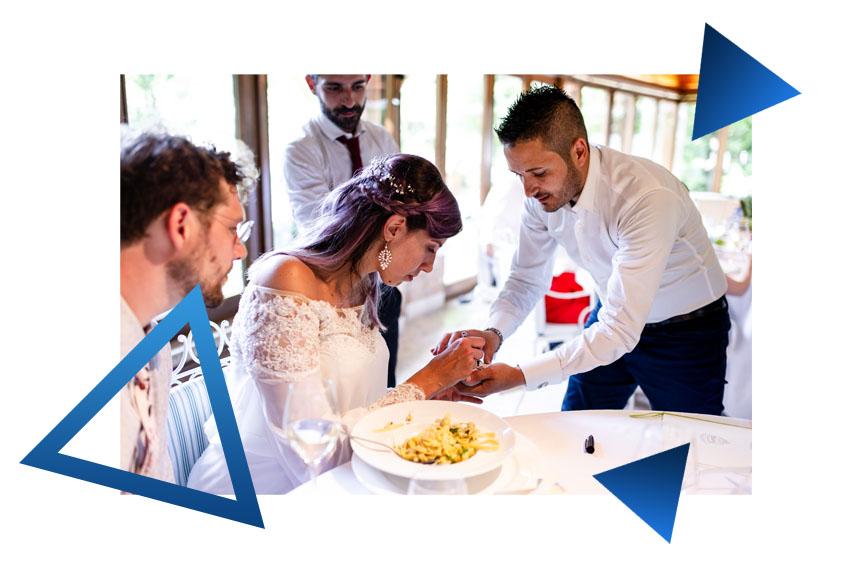 spettacolo per matrimonio
